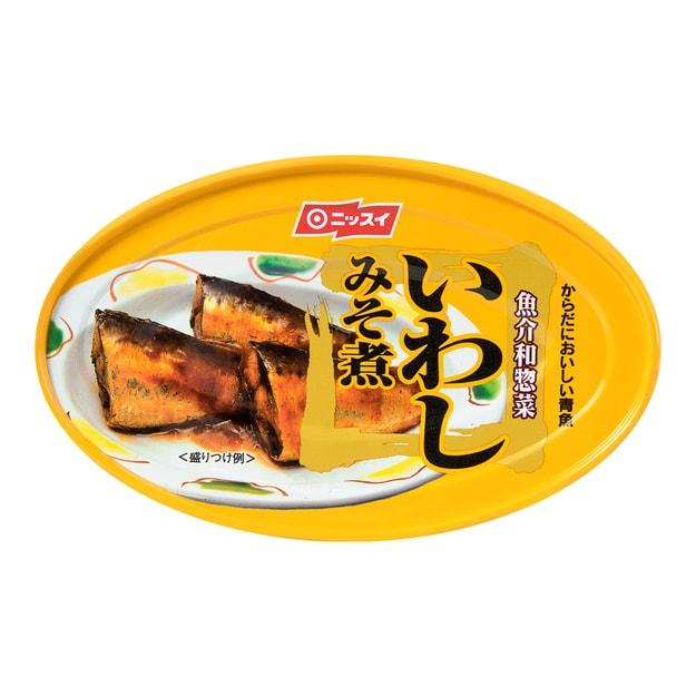 商品详情 - 日本NISSUI 味增调味沙丁鱼罐头 100g - image  0