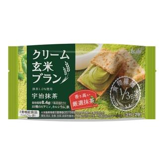 日本BALANCEUP 宇治抹茶夹心玄米饼 72g