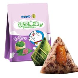 潘祥记 多啦A梦联名款粽子 紫米蜜枣粽  300克 3枚入