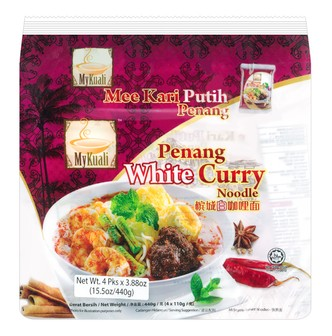 MYKUALI Penang White Curry Noodle 4pc