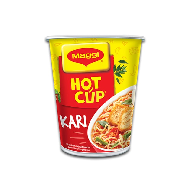 Product Detail - MAGGI HOT CUP Instant Noodle Curry Flavour 59g - image 0