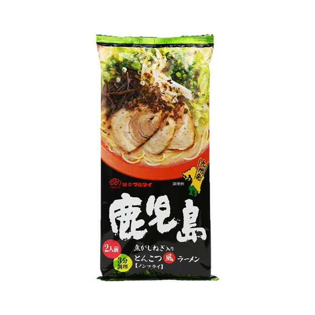Product Detail - MARUTAI Kagoshima Black Pig Pork Bones Ramen 2Servings 182g - image 0