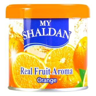 日本MY SHALDAN 汽车室内真正水果香气除臭剂 香橙 80g