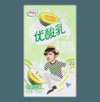伊利 优酸乳 乳饮料 哈密瓜味 250ml