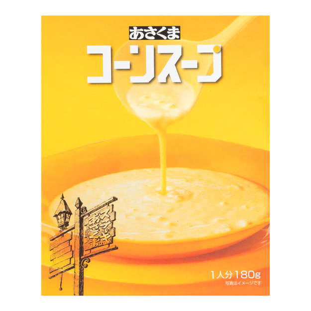 Product Detail - ASAKUMA Corn Soup 180g - image 0