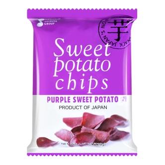 日本SHIBUYA 香甜休闲素朴风味紫薯片 120g 鹿岛产