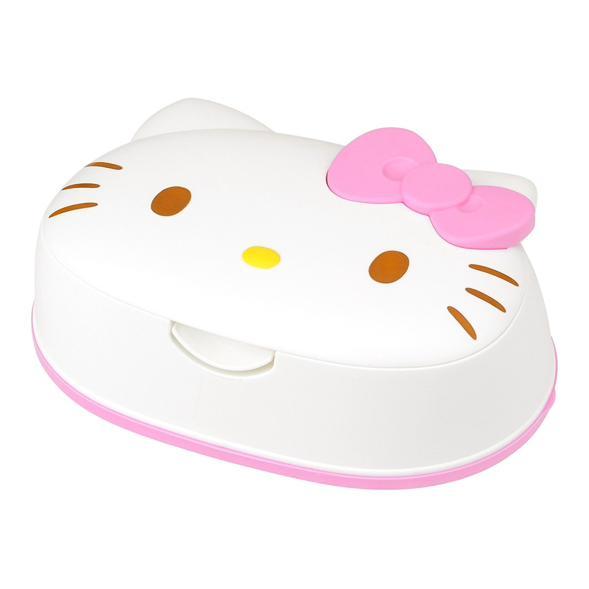 JAPAN Sanrio My Melody Rabbit Face Wet Tissue Case w// 80pcs 99/% Water Wet Wipes
