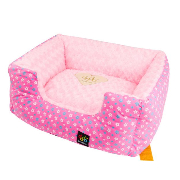 Product Detail - ALPHA DOG SERIES Square Star Cushion  #Pink - image 0