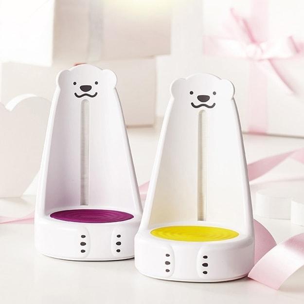 商品详情 - 韩国Nounours LED宝宝喂奶灯 #黄色 (Baby Shower Gift Item) - image  0