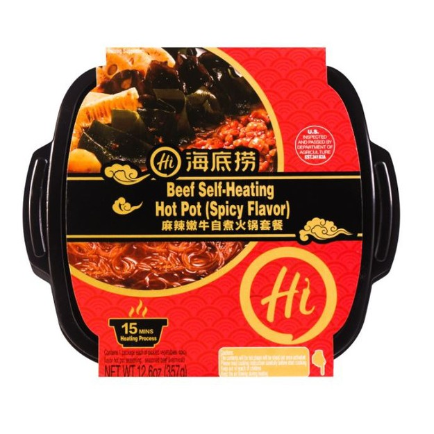 Product Detail - [US stock 3-5 business days] HDL Beef Self-Heating Hot Pot (Spicy Flavor) 357g - image 0