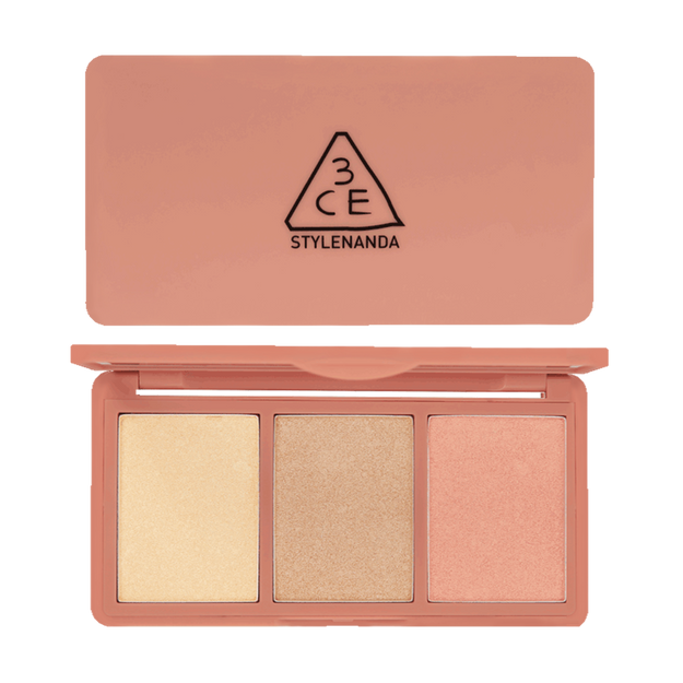 Product Detail - 3CE Strobing Skin Palette  9.9g - image 0