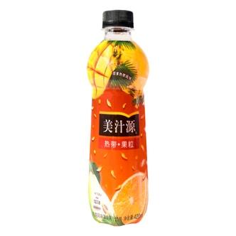 美汁源 热带果粒饮料 420ml