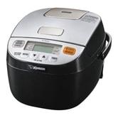 ZOJIRUSHI Micom Rice Cooker Warmer 3 Cups 0.6L NL-BAC05 Silver/Black