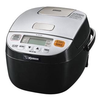 日本ZOJIRUSHI象印 全自动多功能用途安全智能保温电饭锅 3杯米容量 0.6L NL-BAC05 银色/黑色