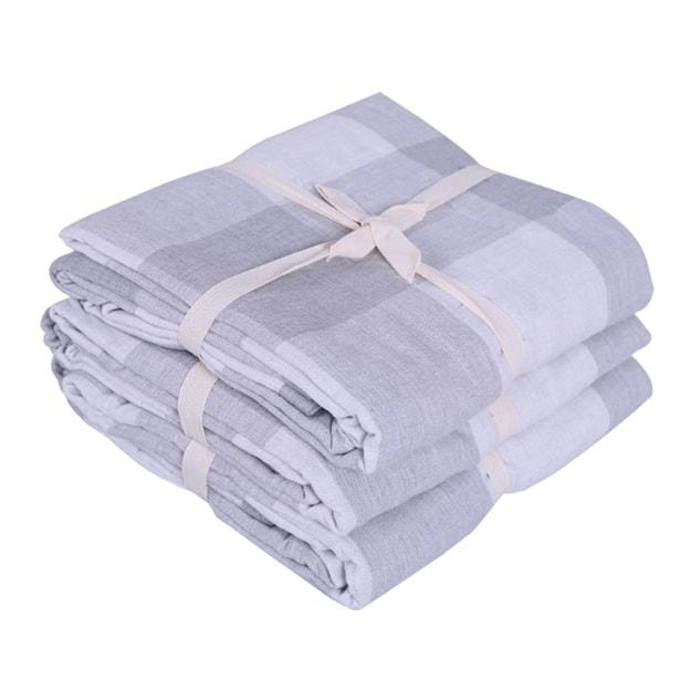 商品详情 - 苏宁极物 提花盖毯毛巾被 150*200cm 灰色 - image  0