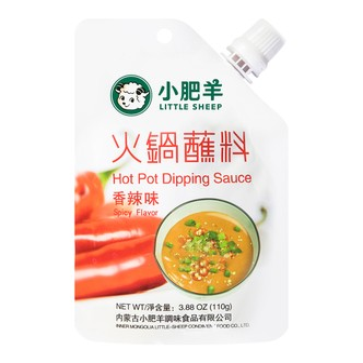 小肥羊 火锅蘸料 香辣味  110g