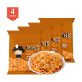 GOOD GOOD EAT Wheat Cracker Original Ramen Flavor 80g (Random Delivery of 2 Packaging) * 4