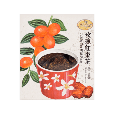 MAGNET Jujube Tea With Rose 3g x 15 Tea Bags