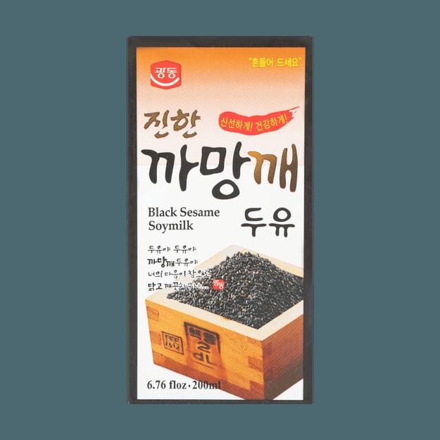 商品详情 - 韩国KWANGDONG 黑芝麻豆奶 200ml - image  0