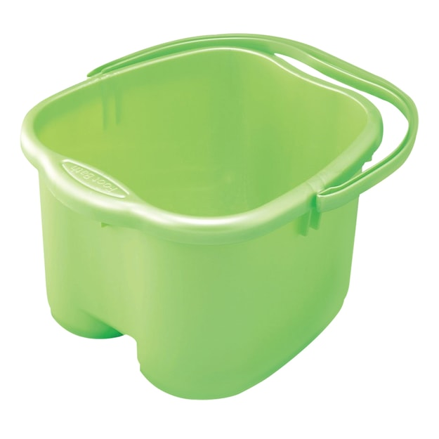 Product Detail - INOMATA Foot Detox Massage Bucket Pearl Green - image 0
