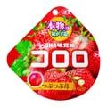 【日本直邮】DHL直邮3-5天到 UHA悠哈味觉糖 冬季限定 全天然果汁软糖 草莓味 48g