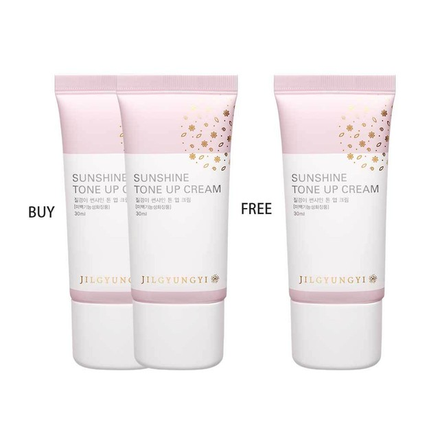 Product Detail - JILGYUNGYI Sunshine Tone Up Cream Happy Pink 30ml Buy 2 Get 1 For Free  EXP DATE:05/2020 - image 0