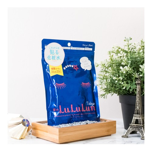 LULULUN High Moisture Facial Mask 7sheets