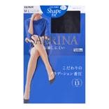 日本GUNZE SABRINA SHAPE FIT 着压显瘦丝袜 13hPa #026黑色 M-L 单件入