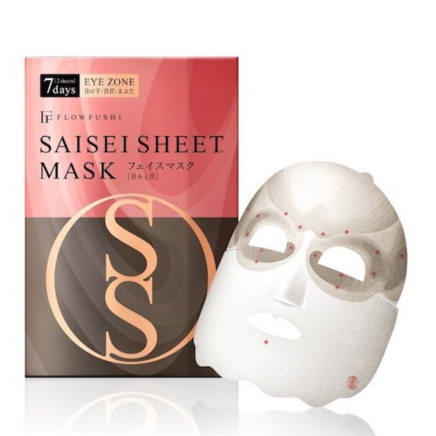 FLOW FUSHI SAISEI  EYE ZONE Sheet Mask 2Sheets