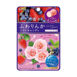KRACIE Fuwarinka Candy Rose and Berry Flavor 32g