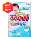 日本GOO.N大王 通用婴儿纸尿布 L号 9-14kg 54枚入 (添加维生素E)