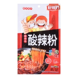 HAOGEMEN Chongqing Style Potato Starch Vermicelli Sour and Spicy Flavor 260g