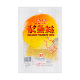【EXP 12/1/2020】JANE JANE Hot Prepared Shredded Squid 85g