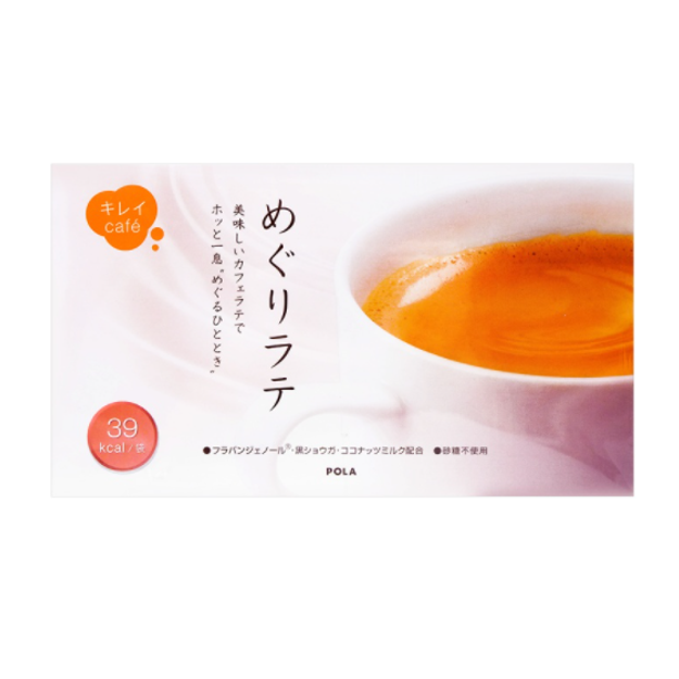 商品详情 - 【日本直邮】POLA拿铁咖啡 美容嫩白健康无蔗糖低热量 30包 - image  0