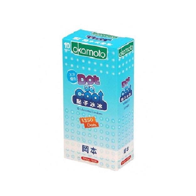 Product Detail - OKAMOTO Dot De Cool Condom 10pcs - image 0