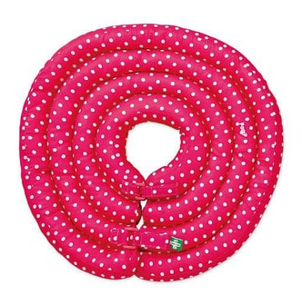 POMPREECE Lightweight Protective Pet Collar Pink Size 1 (for Small Cats and Dogs)