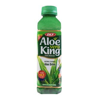 OKF Aloe Vera King Natural Flavored Aloe Drink 500ml