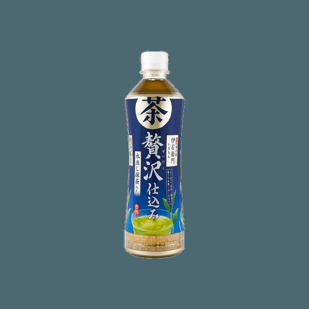 商品详情 - 日本SUNTORY三得利 柠檬绿茶 525ml - image  0