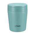 TIGER Stainless Steel Thermal Vacuum Insulated Food Jar Soup Cup #Mint Blue 300ml MCL-A030