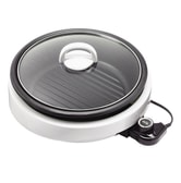 AROMA 3 in 1 Hot Pot With Grillet Plate ASP-137 3QT (2 Year Mfgr Warranty)