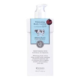 SCENTIO Whitening Body Lotion Co-Enzyme Q10 400ml
