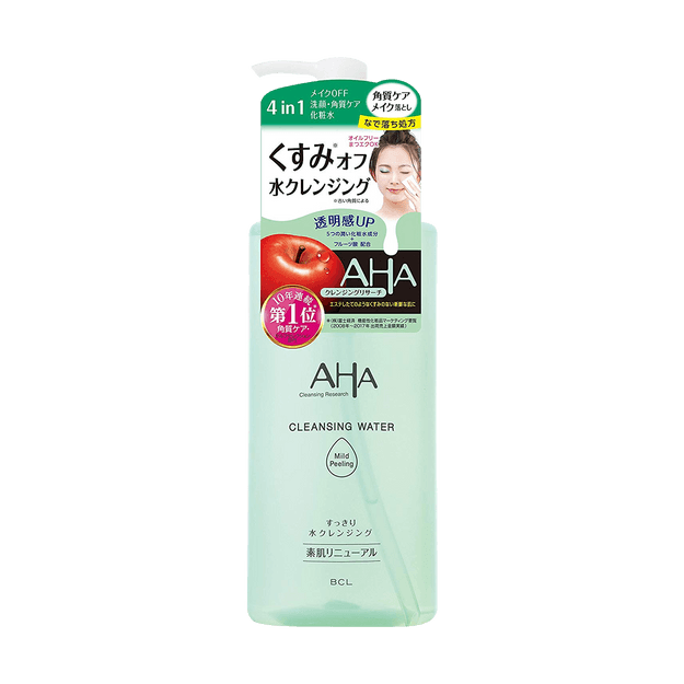 Product Detail - BCL AHA Cleansing Research Cleansing Water Mild Peeling - image 0