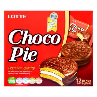 LOTTE Choco Pie Original 12pck 336g