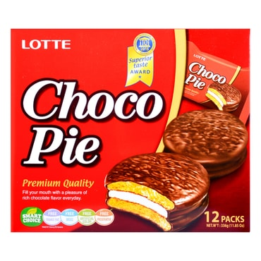 LOTTE Choco Pie 12pc 336g