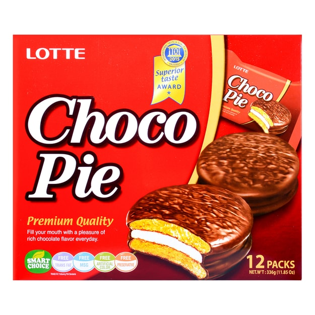Product Detail - LOTTE Choco Pie 12pc 336g - image 0