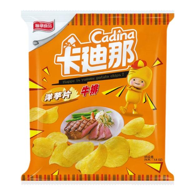 商品详情 - 台湾卡迪那 洋芋片 牛排味 45g - image  0