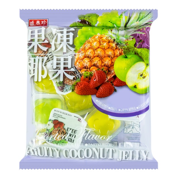 Product Detail - SCHENG Mixed Fruit Flavored Jelly 280g - image 0