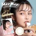 林珊珊 Mermer By Rich Standard 425度日抛抗UV彩色美瞳 Salmon 榛子棕 10枚预定3-5天日本直发