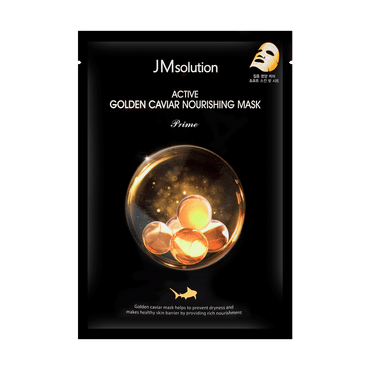 JMsolution ACTIVE GOLDEN CAVIAR NOURISHING MASK PRIME 1 Sheet