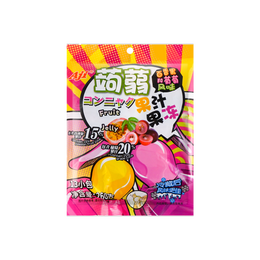 Konjac Jelly  Passion Fruit and Grape Flavor 260g